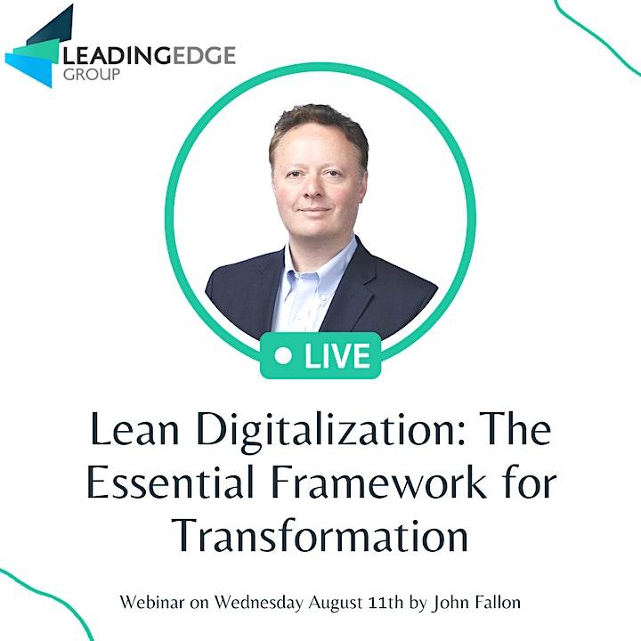 Lean Digitalization: The Essential Framework for  Transformation image