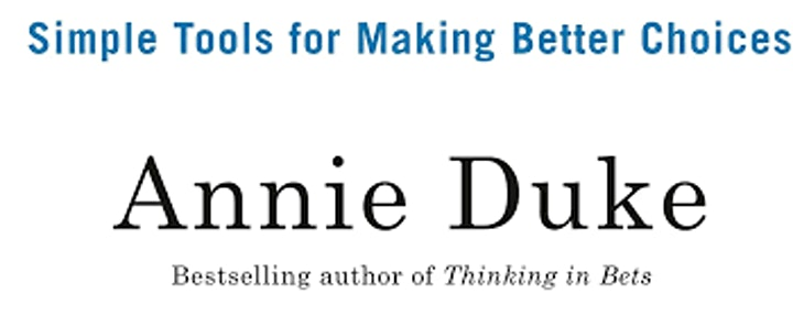 How to Decide: Simple Tools for Making Better Choices - Self-Help Book Club image