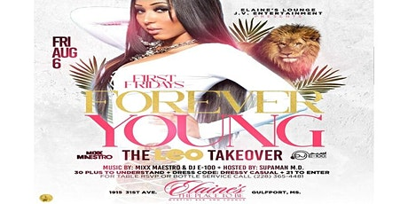 First Fridays August Leo Takeover tickets