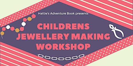 Childrens Jewellery Making Workshop tickets