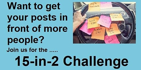 15-in-2 Challenge  Wednesday 22nd September tickets