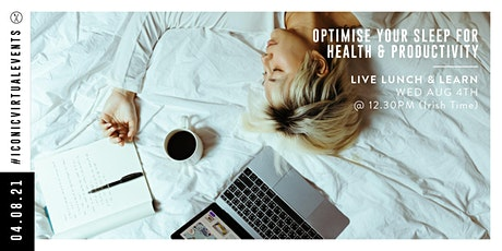 Optimise Your Sleep for Health & Productivity with Motty Varghese tickets
