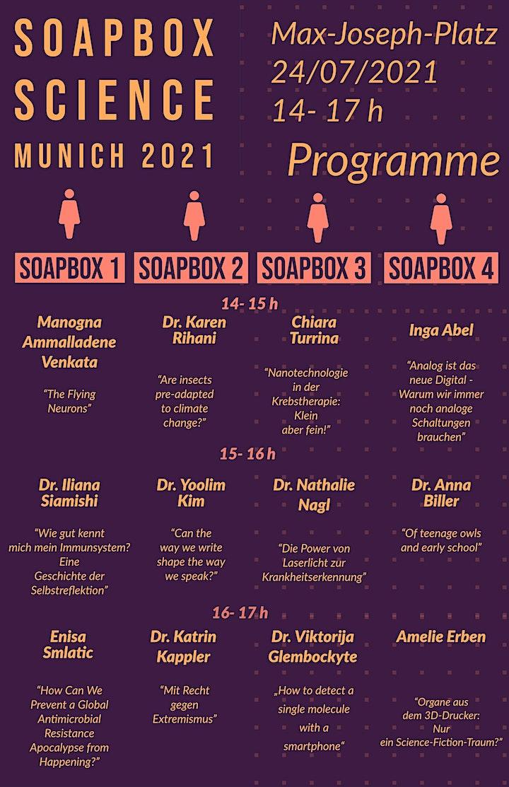 Soapbox Science Munich 2021 image