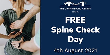 FREE Spine & Posture Check 4th August 2021 tickets