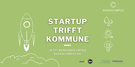 Startup trifft Kommune Tickets