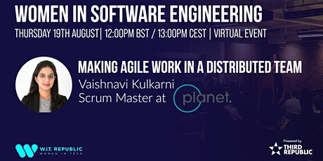 Women in Software Engineering: Making Agile Work in a Distributed Team tickets