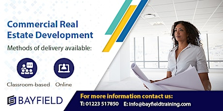 Bayfield Training - Commercial Real Estate Development - Virtual Course tickets