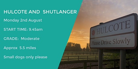 HULCOTE AND SHUTLANGER LOOP | 5.2 MILES | MODERATE| NORTHANTS tickets