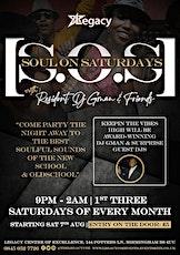 SOS: Soul On Saturdays tickets