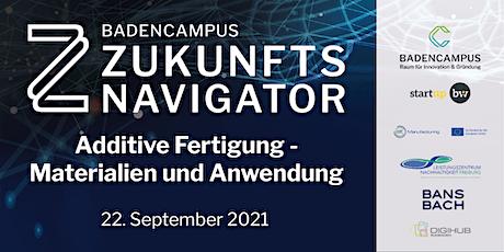 Zukunftsnavigator #8 Additive Fertigung - Anwendung und Material billets