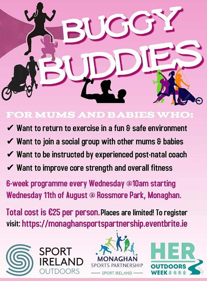 Buggy Buddies Mother & Baby Exercise Programme @ Rossmore Park image