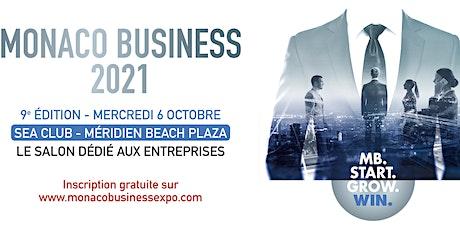 9ème Salon MONACO BUSINESS 2021 billets