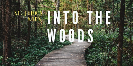 Into the Woods QR Code hunt tickets