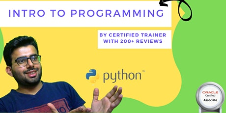 Intro to Python Coding   Open for all age groups   Python Programming Event tickets