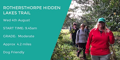 ROTHERSTHORPE HIDDEN LAKES | 5.5 MILES | MODERATE| NORTHANTS tickets
