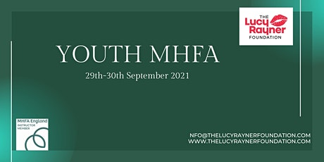 YOUTH Mental Health England  First Aider Course - Classroom tickets