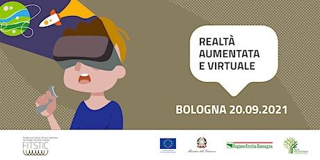 2021 OPEN DAY BOLOGNA - Progettazione realtà aumentata e virtuale biglietti