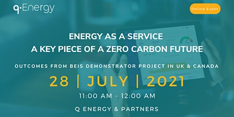 Energy as a Service - Model for a Zero carbon future tickets