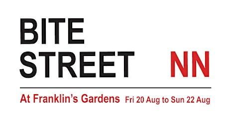 Bite Street NN, August 20 to 22 tickets
