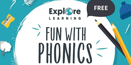 Explore Learning Welwyn - Fun with Phonics  Workshop Ages 4-6 tickets