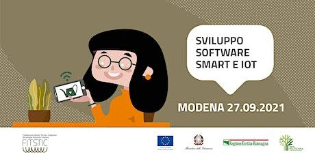 2021 OPEN DAY MODENA - Sviluppo software con tecnologie Smart e IOT biglietti