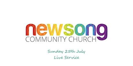 Newsong Bromsgrove Sunday 25th July 2021 tickets