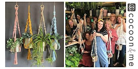 Macramé Plant Hangers Workshop  - Hove tickets