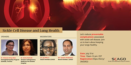 Sickle Cell Disease and Lung Health tickets