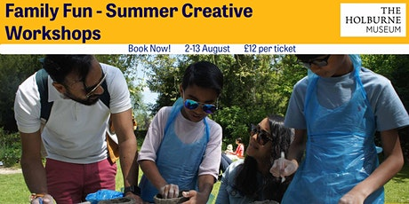 Family Fun  Summer Creative Workshops- Colourful Canals: Make a 3D collage tickets
