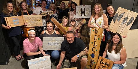 Sip and Paint with Pallets with Purpose tickets