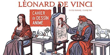 Mes livres animés : Léonard De Vinci billets