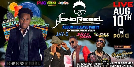 """HONOREBEL """"Official Hollywood Album Release Party"""" LiVE @PooMpOOmTuesdayLA tickets"""