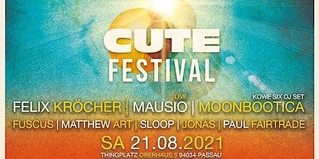 Cute Festival 2021 Passau Tickets