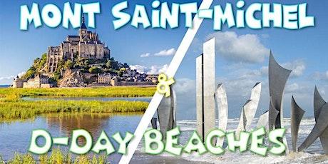 Weekend Mont Saint-Michel & D-Day Beaches - 21-22 août billets