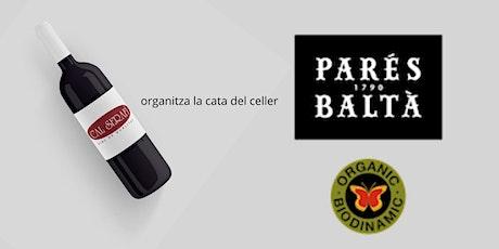 Cata Celler Parès Baltà entradas