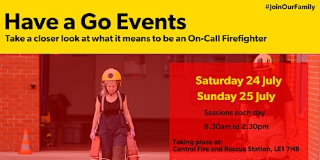On-Call Firefighter 'Have a Go' Day tickets