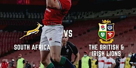 Lions Tour at LSC -  Springboks v British & Irish Lions - 3rd Test tickets
