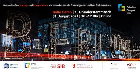 Hallo Berlin! – städteübergreifendes Netzwerktreffen für Startups! Tickets