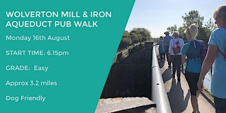 WOLVERTON MILL & IRON AQUEDUCT PUB WALK | 3.2 MILES | EASY tickets