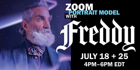 ENCORE! Portrait Model ZOOM with FREDDY BORGES (Long Pose) tickets