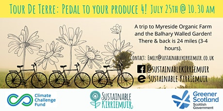 Tour De Terre: Pedal to Your Produce 4! (Myreside & Balhary) tickets