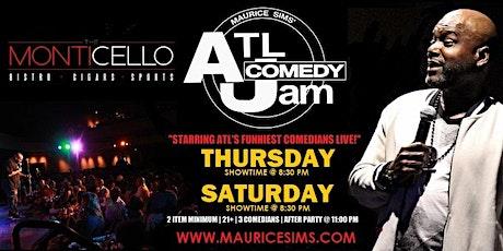 ATL Comedy Jam 2021 @ Monticello tickets