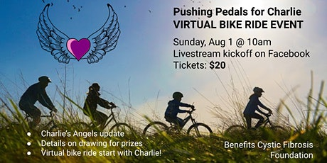 Pushing our Pedals for Charlie VIRTUAL BIKE RIDE 2021 tickets