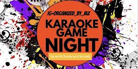 Thursday Karaoke Night tickets