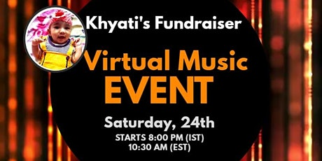 Virtual Music Concert for Charity #HelpKhyati tickets