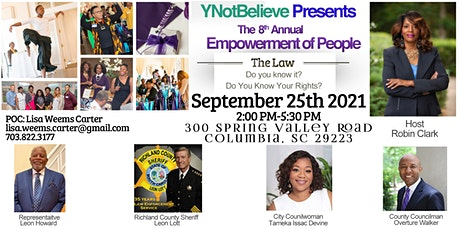 8th  Annual Empowerment of People Conference tickets