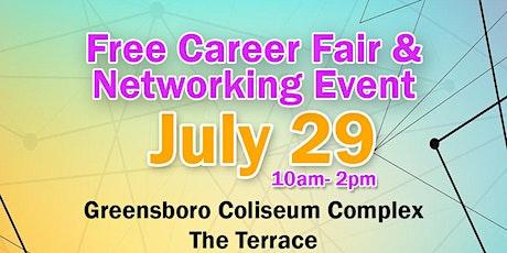 Free Career Fair!  Greensboro Coliseum tickets