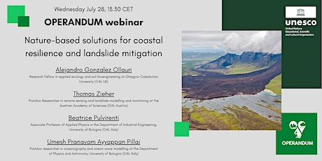 Nature-based solutions for coastal resilience and landslide mitigation tickets