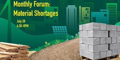 Monthly Forum - Material Shortages tickets