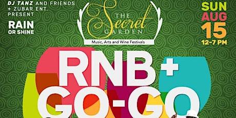 SECRET GARDEN R&B / GoGo MUSIC, ARTS, AND WINE FESTIVALS tickets